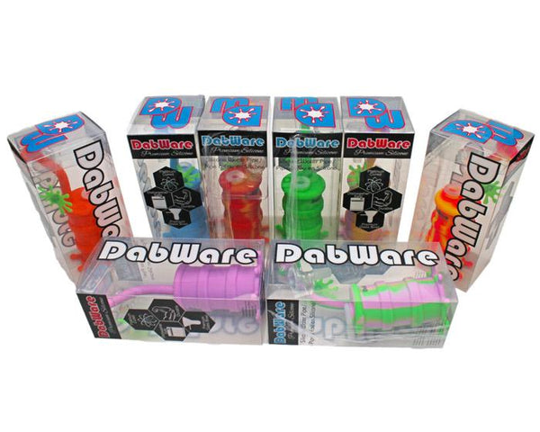 "DabWare Platinum 8.5"" Can Silicone Bubbler"