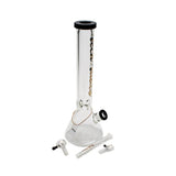 "Tech Tubes 16"" 9mm Glass Beaker Bong"