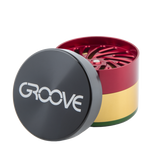 "Groove 2"" 4-piece Grinder + Sifter"