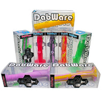 "DabWare Platinum Silicone Bong 14"" Straight Shooter 2PC"