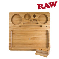 RAW Natural Bamboo Rolling Tray