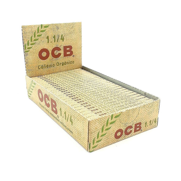 OCB Organic Hemp Rolling Papers 1.25 Box of 25