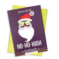 KushKards Ho-Ho-High Holiday Gift Card
