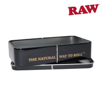 RAW Black Metal Tin Case
