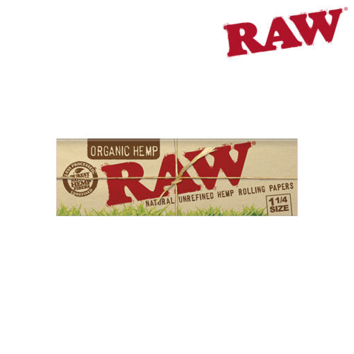 RAW Organic 1 1/4 Papers Box of 24