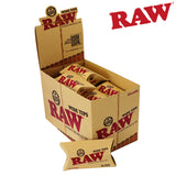 RAW Wide Pre-Rolled Unbleached Tips Box/20