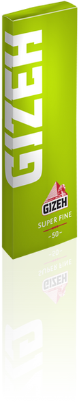 GIZEH Super Fine 1.25 Rolling Papers Box Of 20
