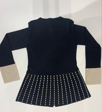 Load image into Gallery viewer, Flared Knit Jacket 20D1058
