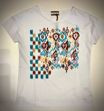 Load image into Gallery viewer, Aztec Studded Top 3032