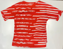 Load image into Gallery viewer, Painted Stripe Top T37351