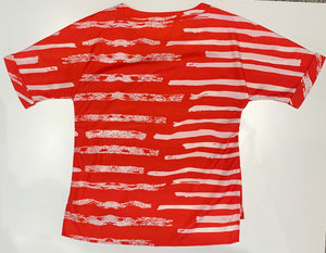 Painted Stripe Top T37351