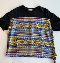 Load image into Gallery viewer, Satin Aztec print T Shirt T36891