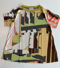 Load image into Gallery viewer, Geometric Print Jersey Top K630