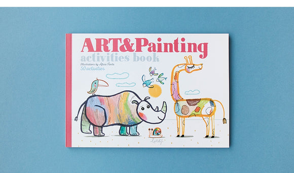 Arts & Painting Activities Book