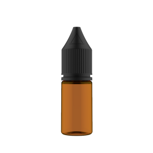 Chubby Gorilla - 10ML Unicorn Bottle - Amber Bottle / Black Cap - V3 - Copackr.com