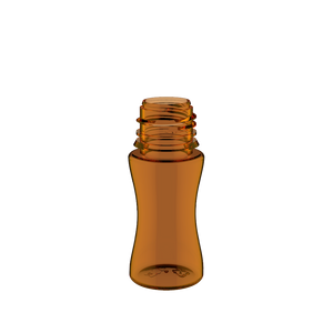 Chubby Gorilla - 30ML Stubby Unicorn Bottle - Amber Bottle / Black Cap - V3 - Copackr.com