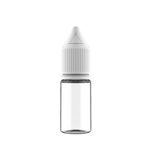 Chubby Gorilla - 10ML Unicorn Bottle - Clear Bottle / White Cap - V3 - Copackr.com