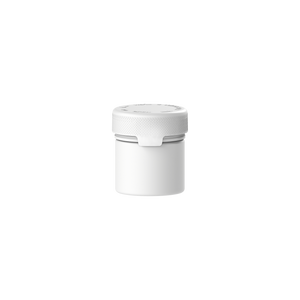 60CC/2FL.OZ/60ML Aviator CR - Container With Inner Seal & Tamper - Opaque White With Opaque White Lid - Copackr.com