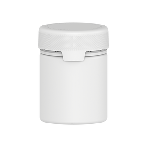 550CC/18.5FL.OZ/550ML Aviator CR - XL Container With Inner Seal & Tamper - Opaque White With Opaque White Lid - Copackr.com