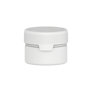 220CC/7.5FL.OZ/220ML Aviator CR - XL Container With Inner Seal & Tamper - Opaque White With Opaque White Lid - Copackr.com