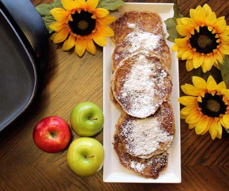 Gluten-Free Apple Pancakes