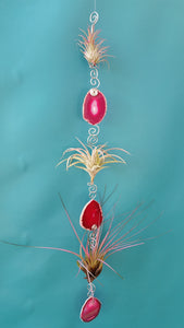 Agate Bling Triple (Hanging)