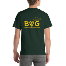 "Load image into Gallery viewer, ""B.I.G""+ Ash St. Logo Unisex Short Sleeve T-Shirt"