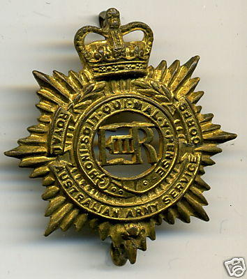 Royal Australian Army Service Corps Cap Badge