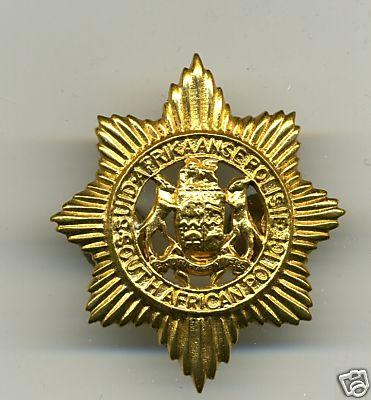 Police Hat Badge, South African Police