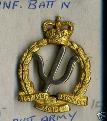 Australian Army Psychology Corps Cap Badge