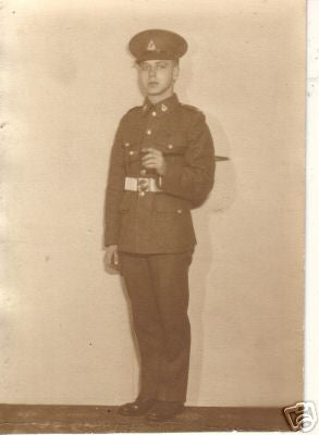 PHOTOGRAPH WW2 ROYAL CANADIAN ARMY PAY CORPS RCAPC