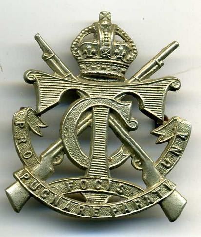 South African: Transvaal Cadets Cap Badge