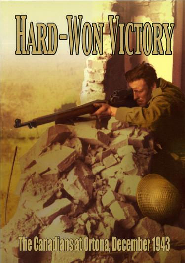 BOOK:HARD-WON VICTORY,The Canadians At Ortona