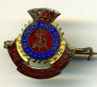THE SALVATION ARMY Veterans Pin