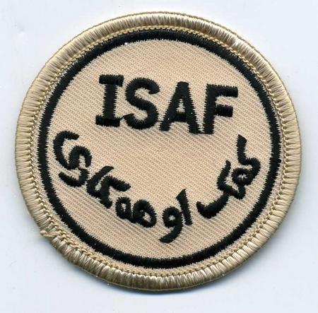 ISAF, International Security Assistance Force Patch
