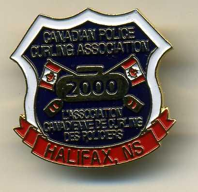 Curling Pin: Canadian Police Curling Association