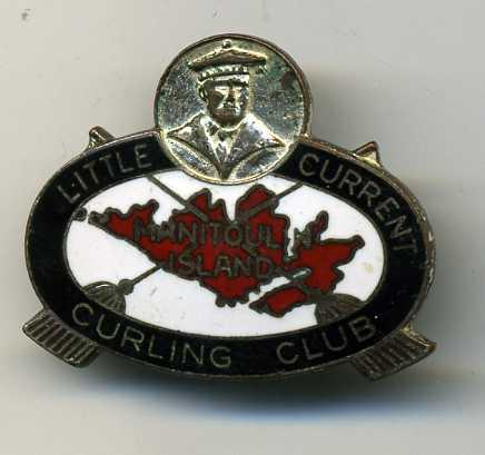 Curling Pin: Little Current Curling Club