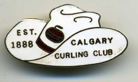 Curling Pin: Calgary Curling Club