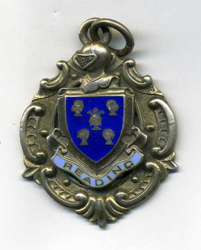 Silver, Town of Reading Coat of Arms Pendant