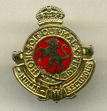 Govenor General's Horse Guard Sweetheart Pin