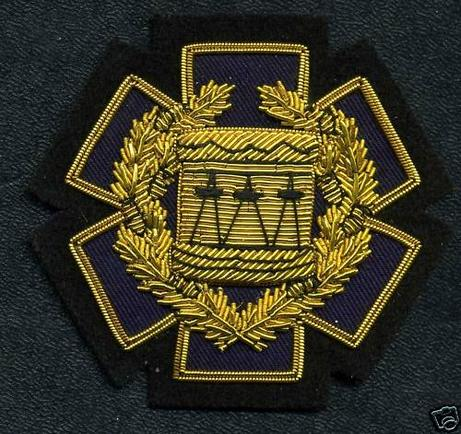 Gold Wire, DRUM MAJOR EMS / EMT, Badge of Appointment