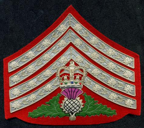 Silver Wire, Major's Rank Chevron Insignia