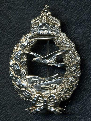 Prussian Aviation Badge