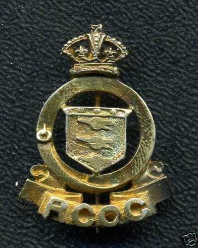 WW2 RCOC Royal Canadian Ordnance Corps Sweetheart Pin