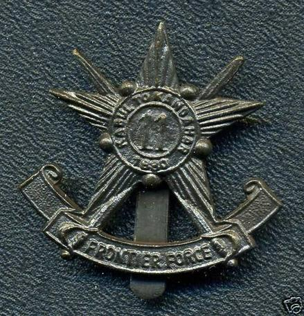 Pakistan Army: 11th Frontier Force Cap Badge
