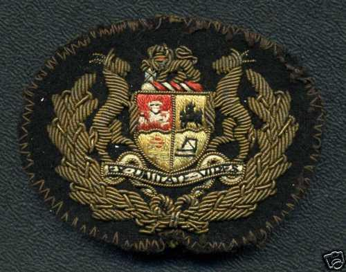 South African Navy, Warrant Officers Rank Badge