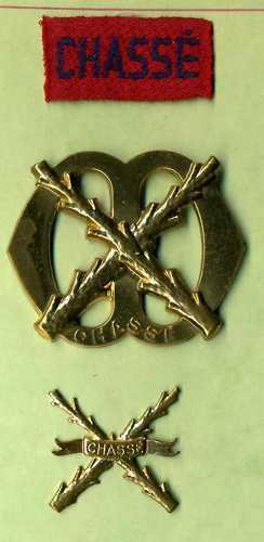 Dutch Army: Infantry Regiment Cap Badge Set (lot of 3)