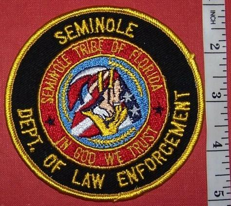 USA TRIBAL: SEMINOLE POLICE Shoulder Patch