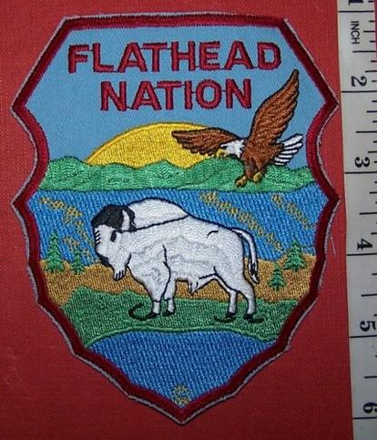 USA TRIBAL: FLATHEAD NATION POLICE Shoulder Patch