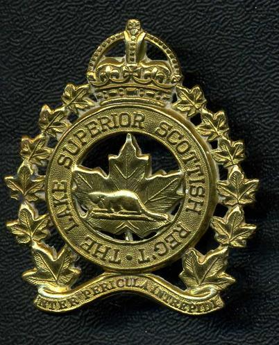 Lake Superior Scottish Cap Badge